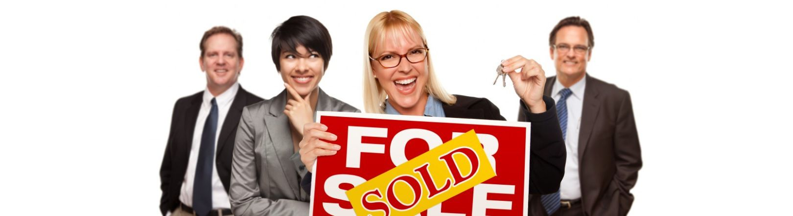 Image of Real Estate Agent Selling Home